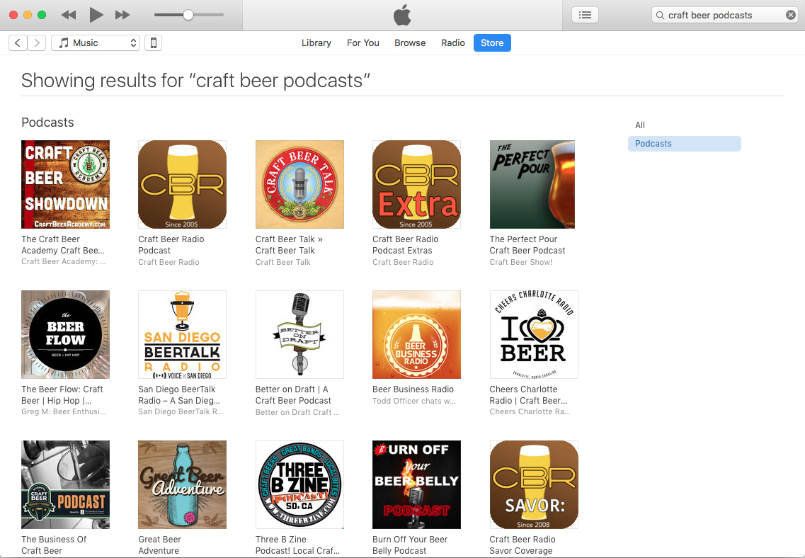 The best craft beer podcasts as of September 17, 2017.