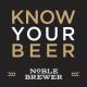 Noble Brewer, the world's best beer club. 20% off homebrew by mail with coupon code: MICROBREWR http://microbrewr.com/noblebrewer