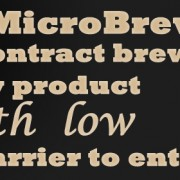 MicroBrewr 073: Contract brewing: quality product with low barrier to entry with Craft Artisan Ales.