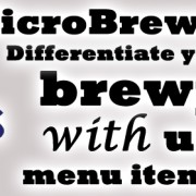 MicroBrewr 087: Differentiate your brewpub with unique menu items with Nexus Brewery