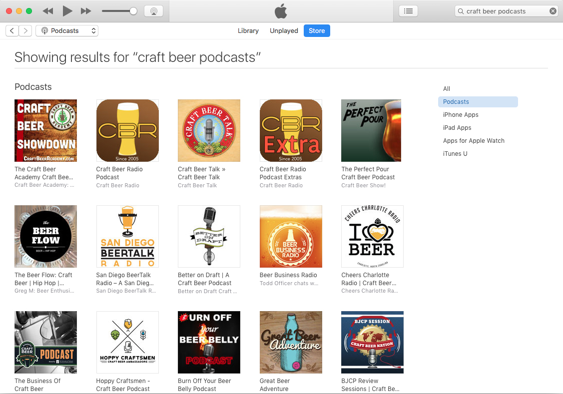 The best craft beer podcasts as of June 18, 2017.