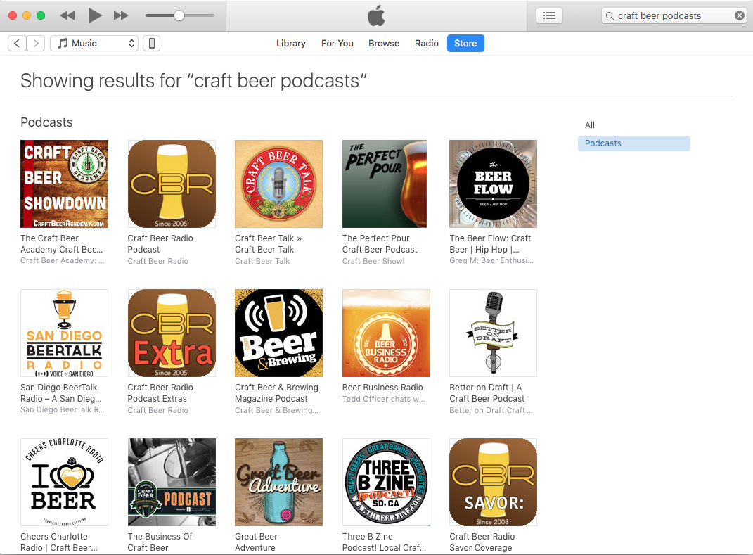 The best craft beer podcasts as of December 27, 2017.