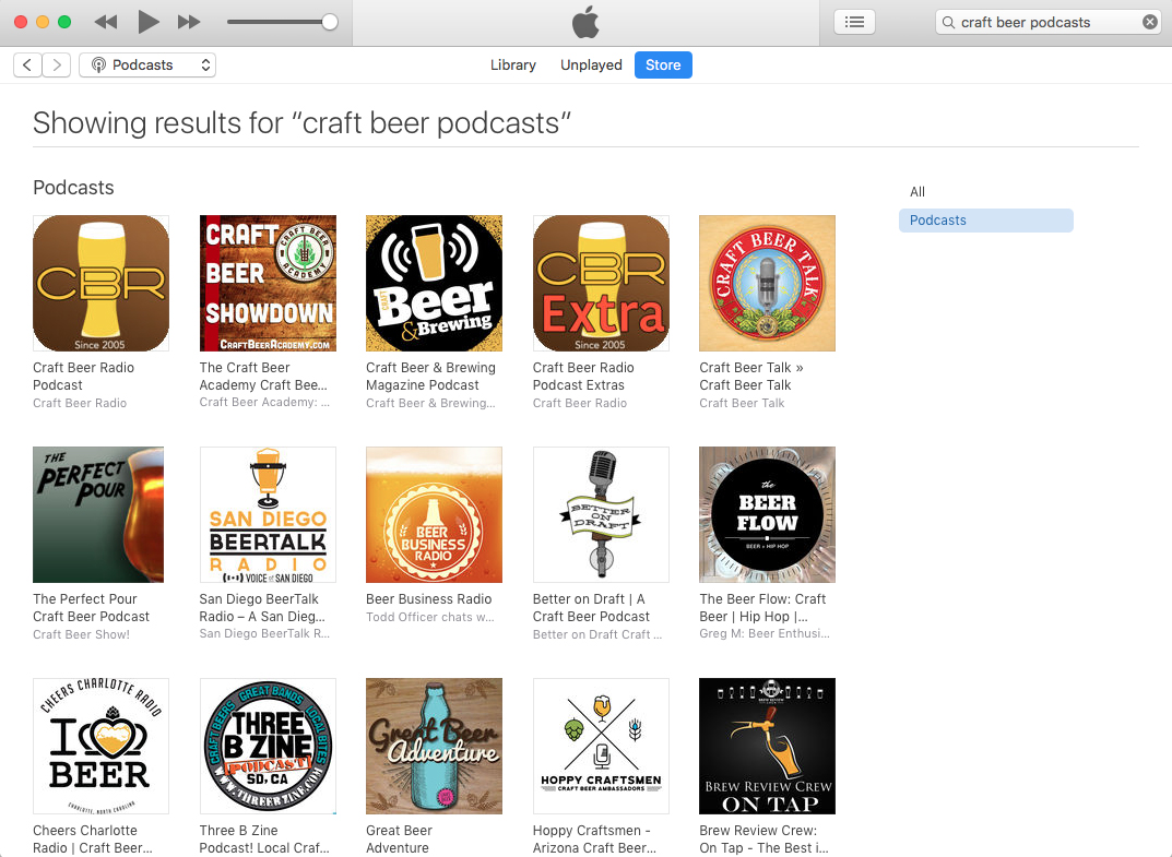 The best craft beer podcasts as of March 26, 2018.