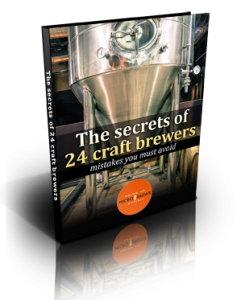 The Secrets of 24 Craft Brewers; Mistakes you must avoid by MicroBrewr