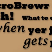 MicroBrewr 069: Arrrgh! What to do when yer job gets boring with Pensacola Bay Brewery.