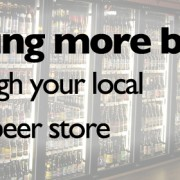 Selling more beer through your local craft beer store.