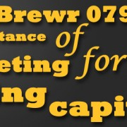 MicroBrewr 079: The importance of budgeting for working capital with Lakewood Brewing Co.