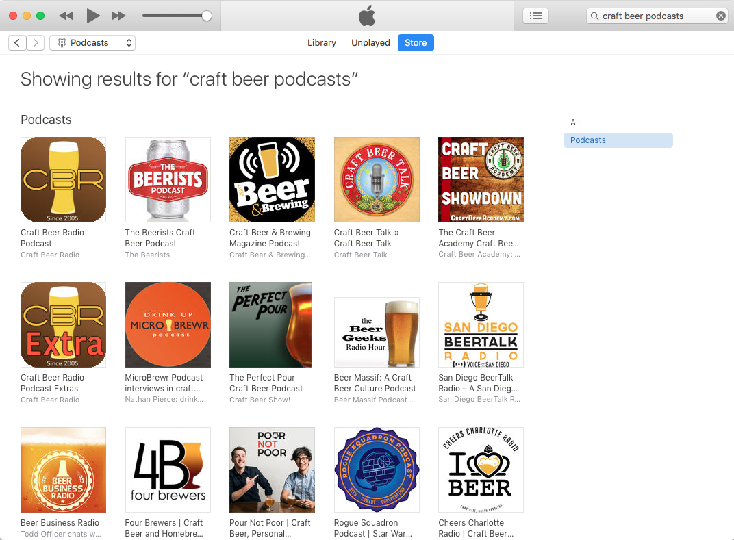 The best craft beer podcasts as of June 6, 2018.