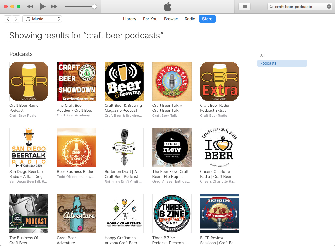 The best craft beer podcasts as of July 9, 2018.