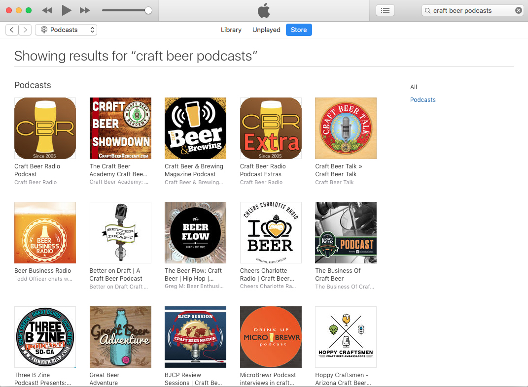 The best craft beer podcasts as of October 16, 2018.