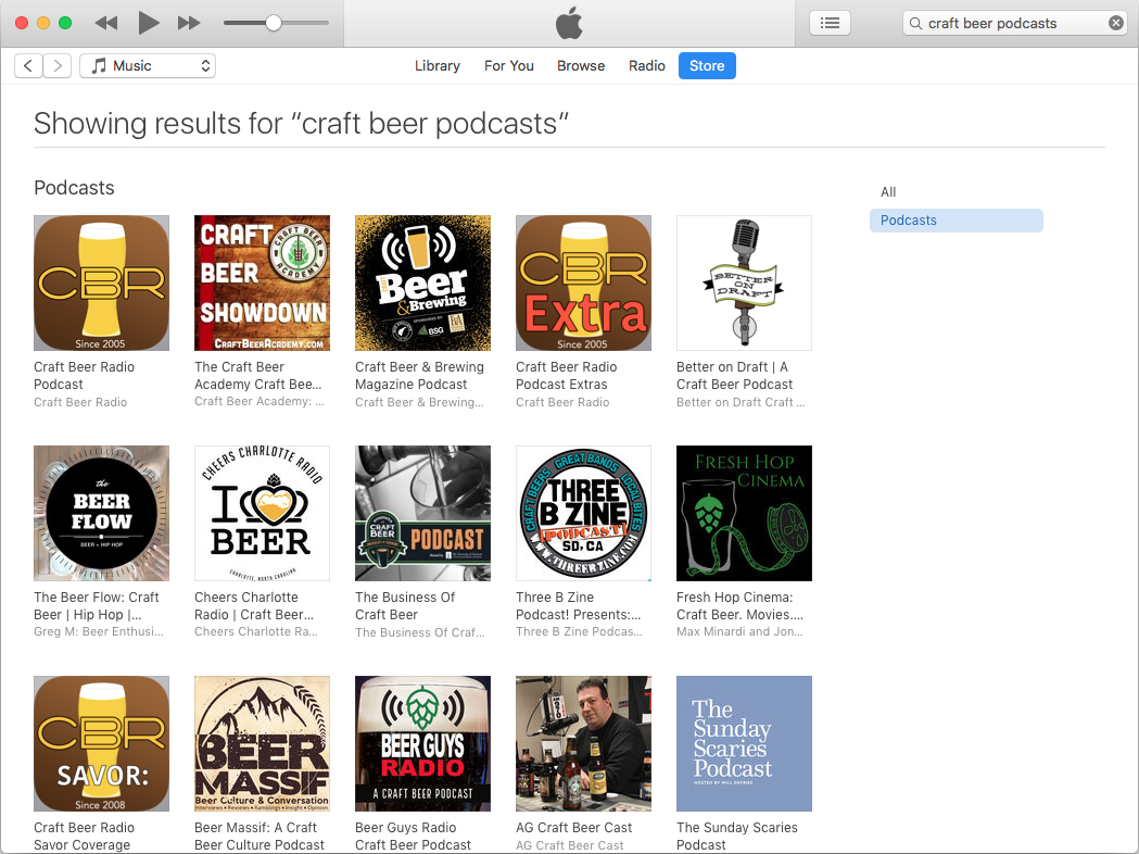 The best craft beer podcasts as of April 17, 2019.