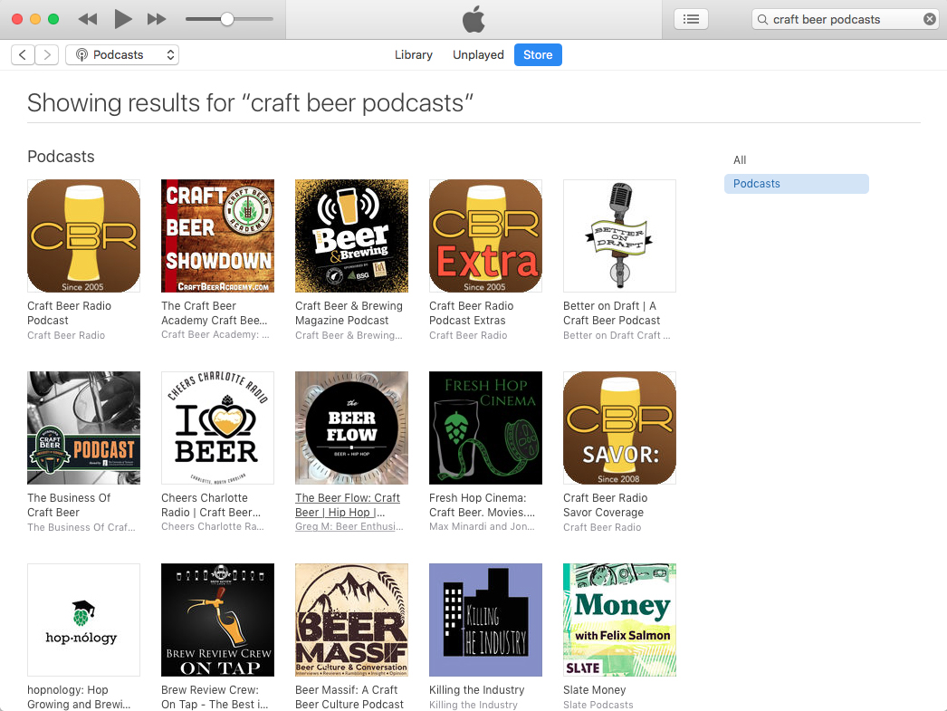 The best craft beer podcasts as of May 22, 2019.