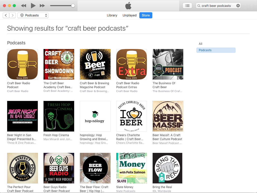 The best craft beer podcasts as of January 14, 2020.