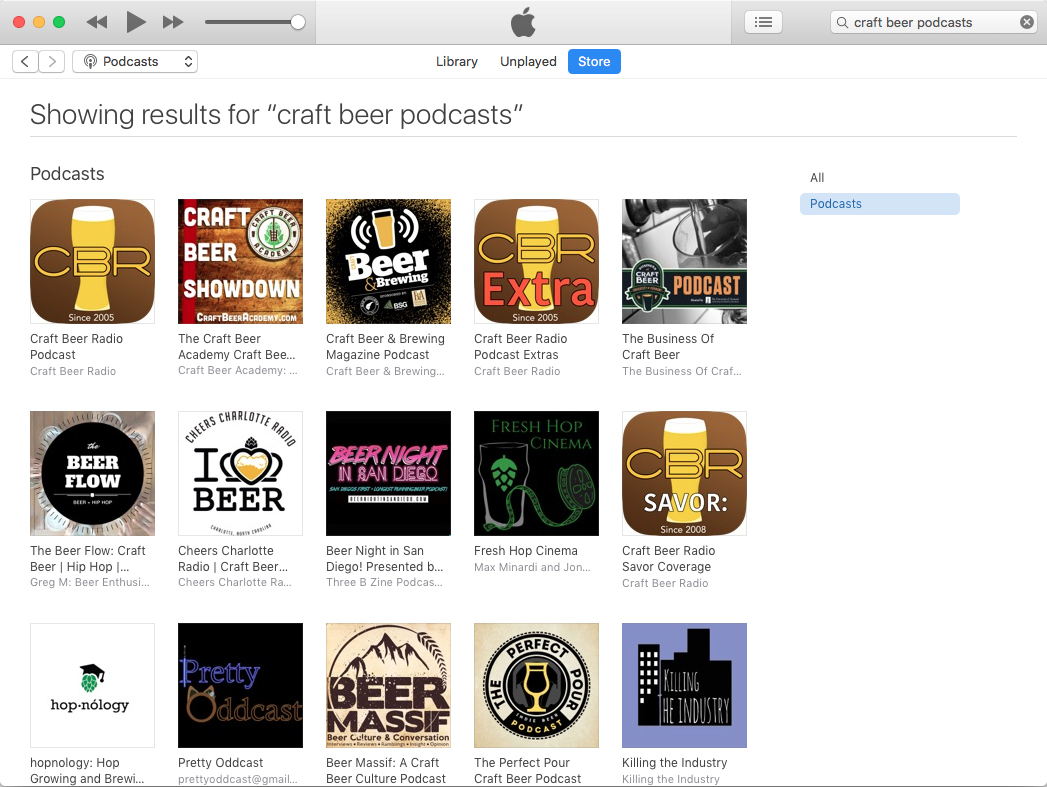 The best craft beer podcasts as of February 18, 2020.