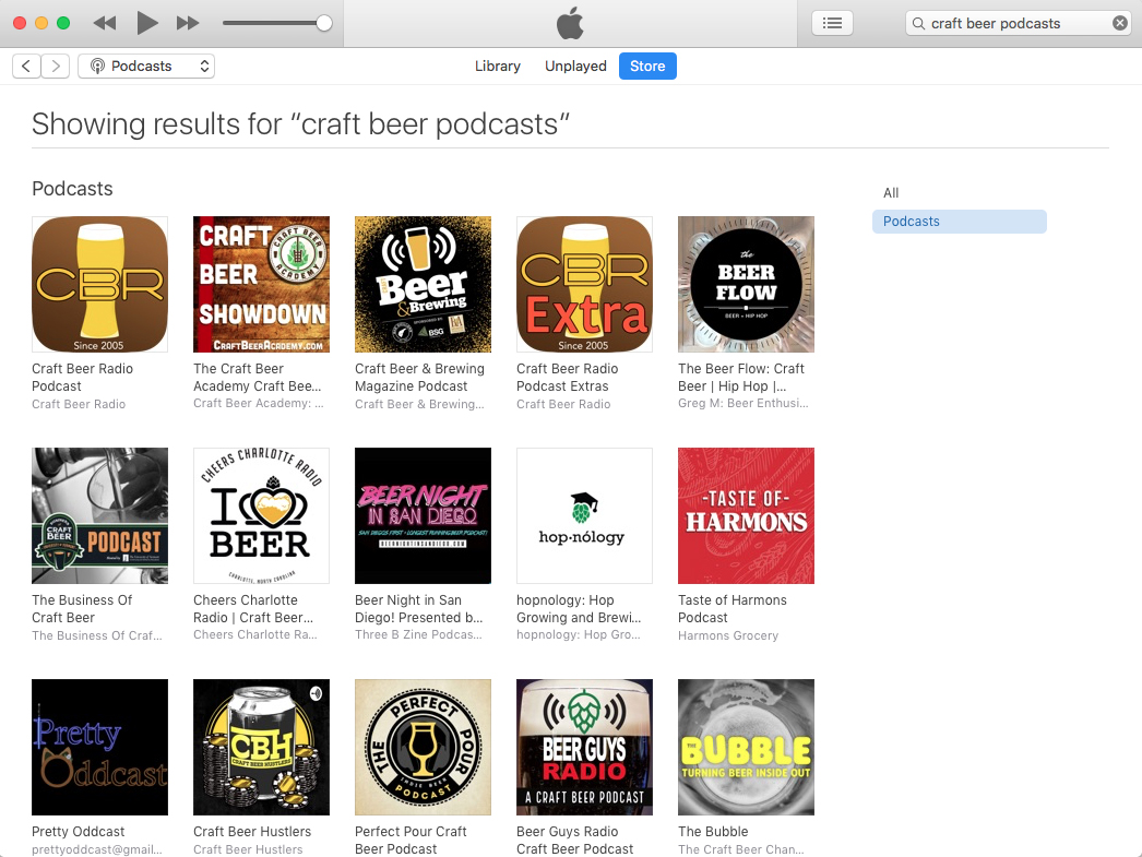 The best craft beer podcasts as of May 10, 2020.